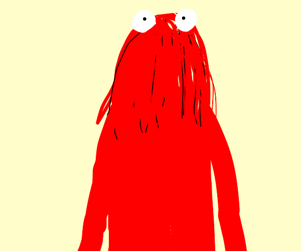 Red guy from dhmis
