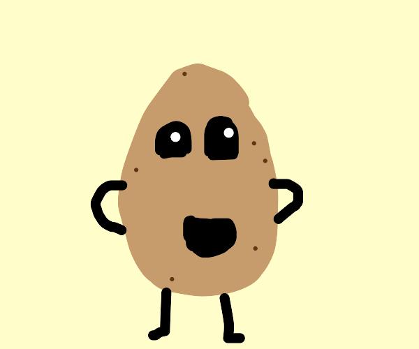 Mr. Incredible Potato!
