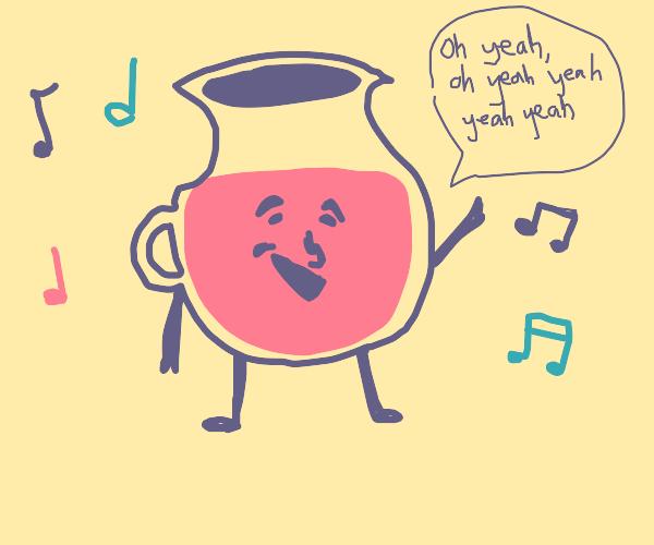 koolaid man singing
