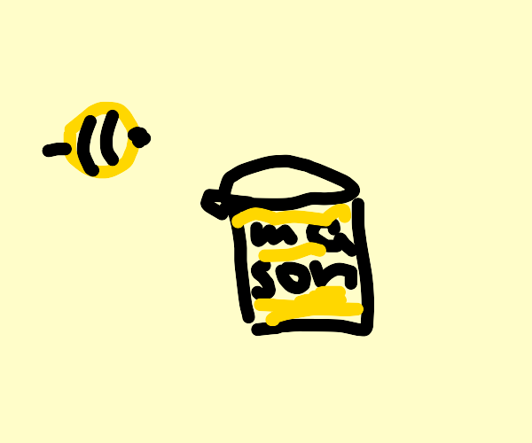 Bees now store their honey in jars