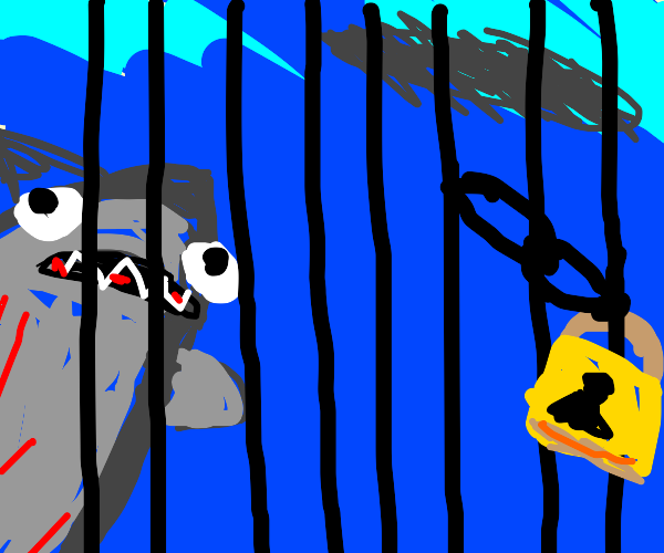 they trapped jaws :(