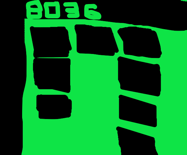 Snake game from old cell phone