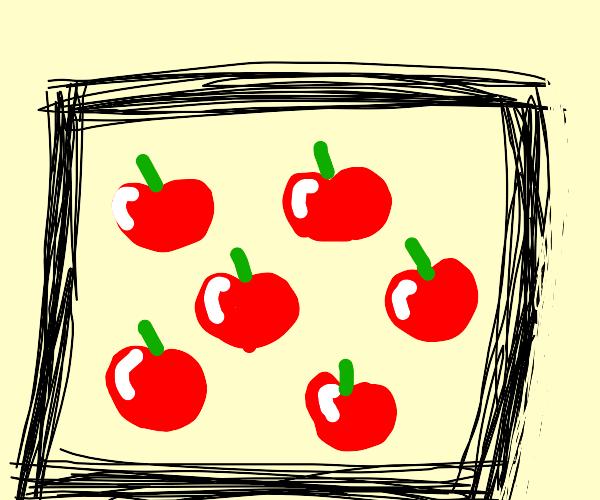recursive apple photo