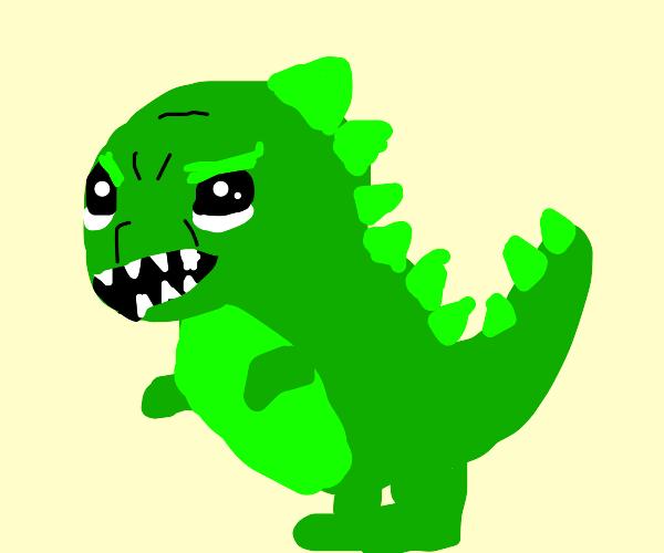 t-rex is angey