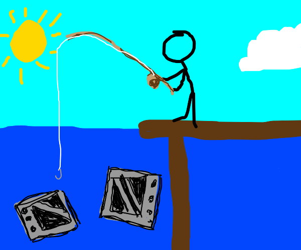 Fishing for Microwaves