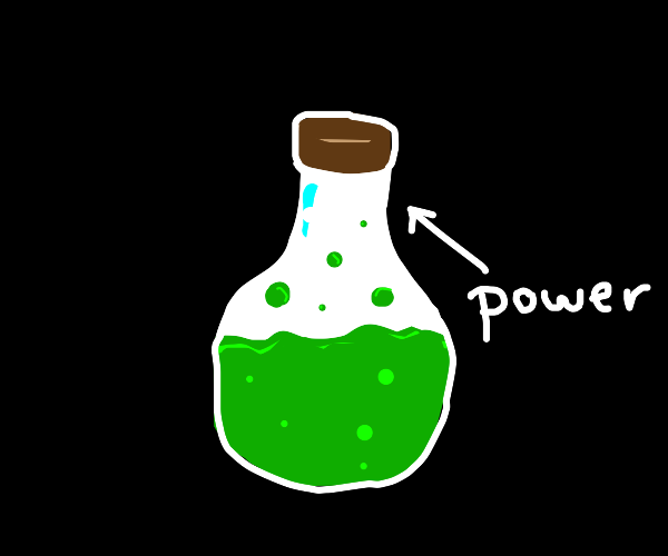 The Green Potion of Power!!!