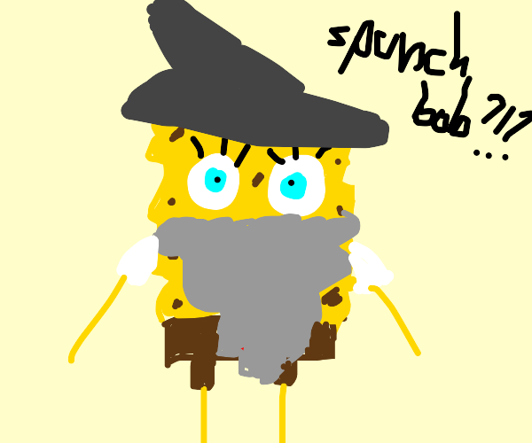 aw hell naw spunch bob in lawd of ring????