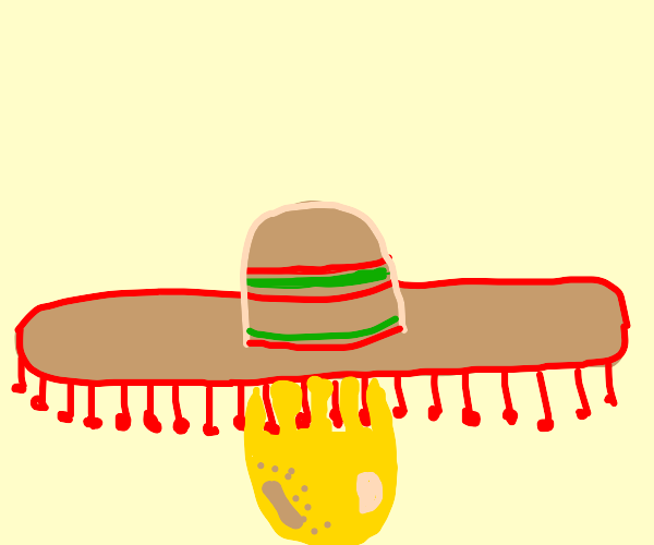 The one and only sombrero Potato
