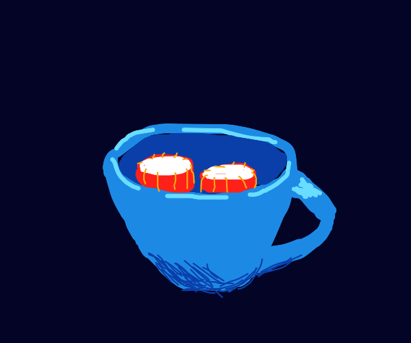 Drums in a Cup