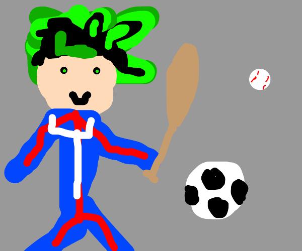 deku playing sports?