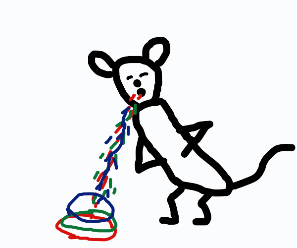 mouse vomiting