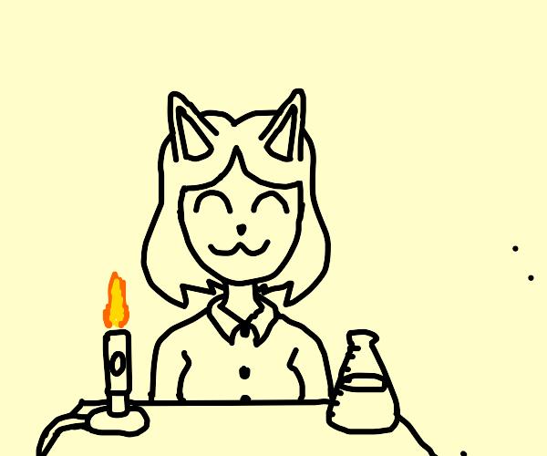 Cat girl science