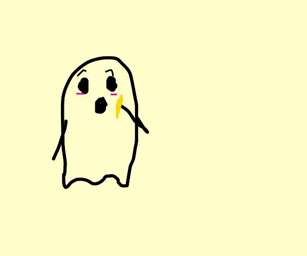 ghost eat fry