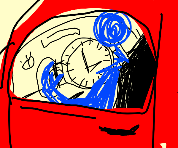 Driving with a Watch
