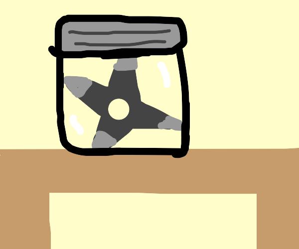 Death Star in a jar