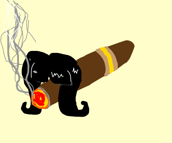 Hairy Cigar