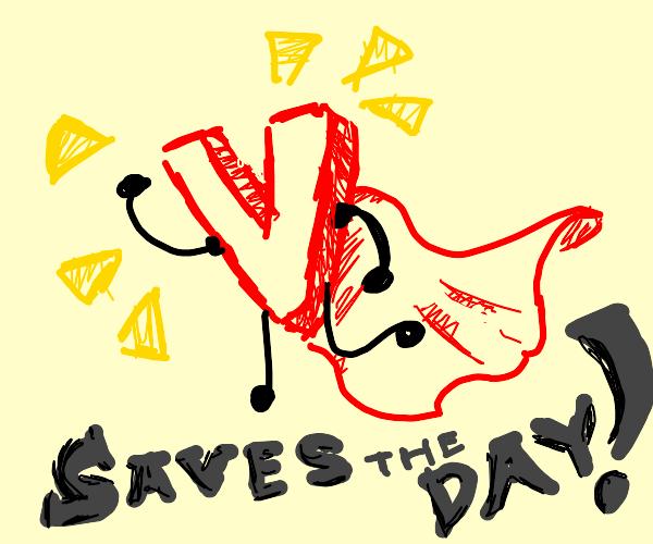 Super V saves the day