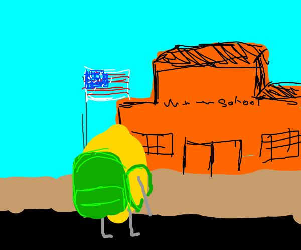 Lemon comes back to school