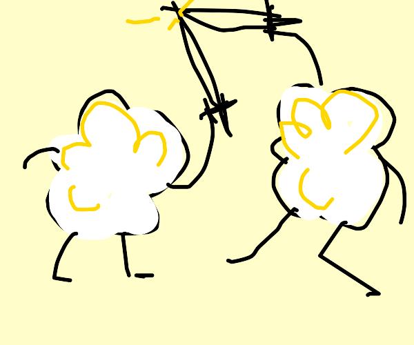 Popcorn in a Battle