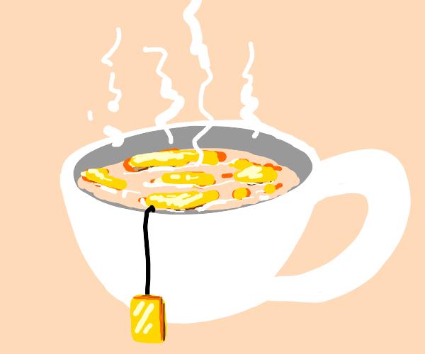 Expensive tea
