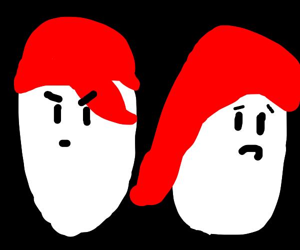 Voodoo potato breakup