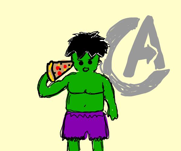 The Pizza, Hulk Hogan. Eat It.