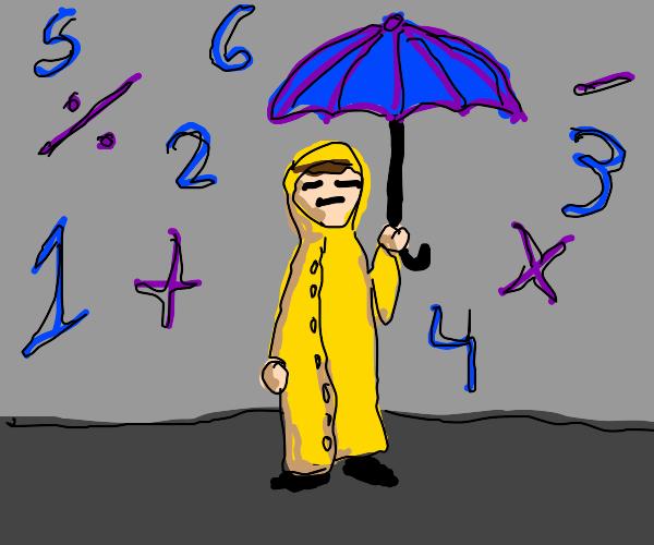 It's raining math