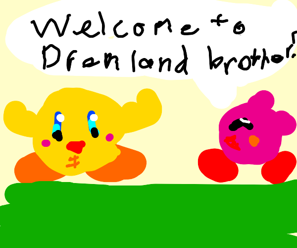 Kirby's buff brother comes to visit