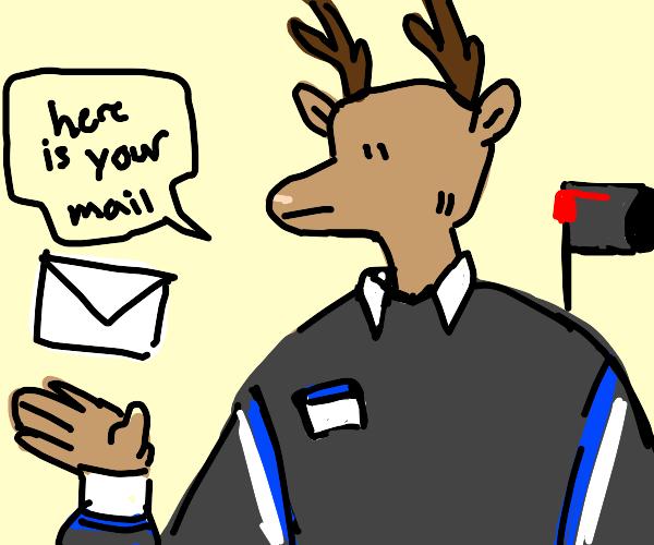 Deer Mailman