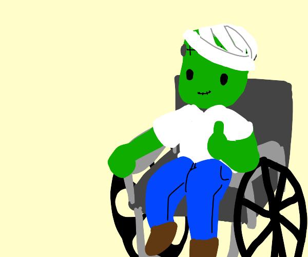 Disabled Frankenstein's Monster