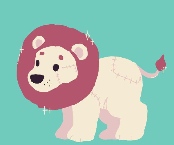 plush lion!