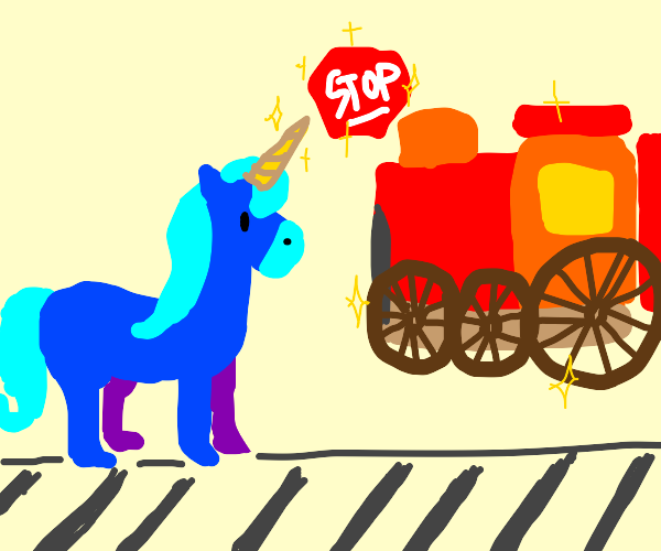 Blue Unicorn will stop that train
