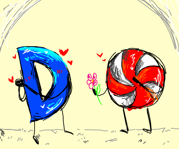 Drawception D finds his true love
