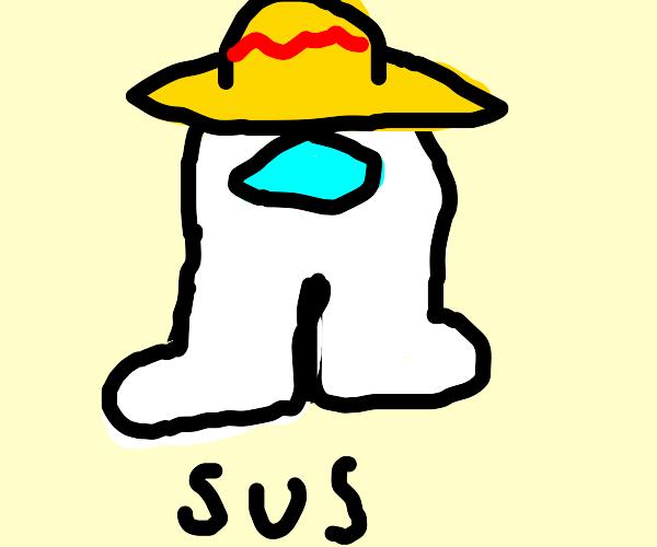 amogus wearing a sombrero?
