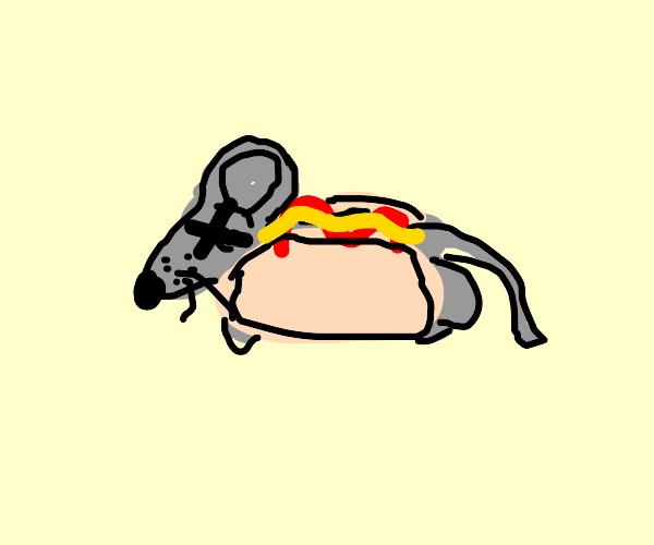 Rat hotdog is the new big hit