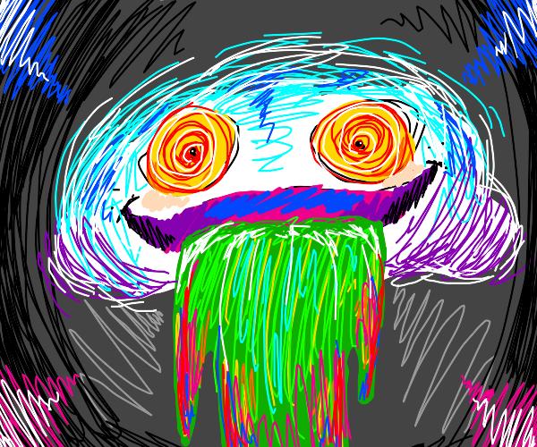 Happy vomit cloud