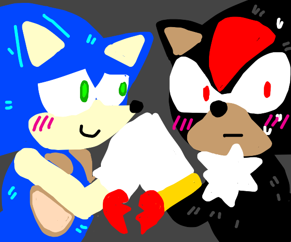 Sonic the Hedgehog fanfiction ft. 1/2 heart