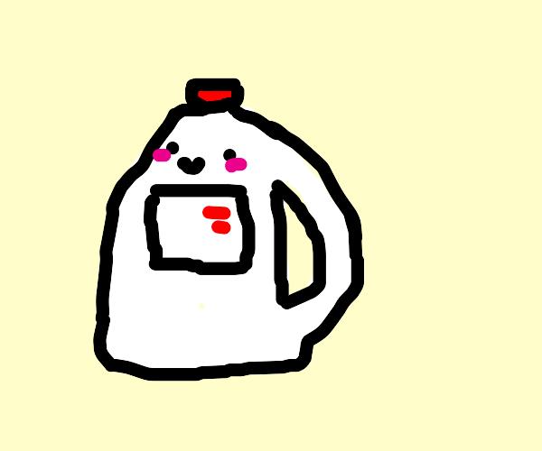 a gallon of milk