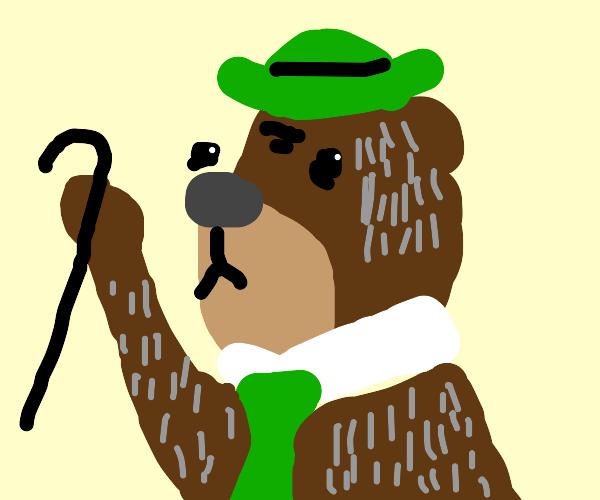 Yogi bear is getting old