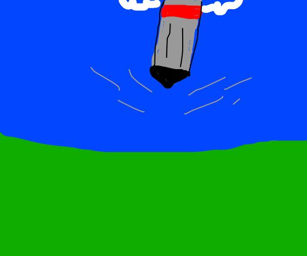 Falling Bomb