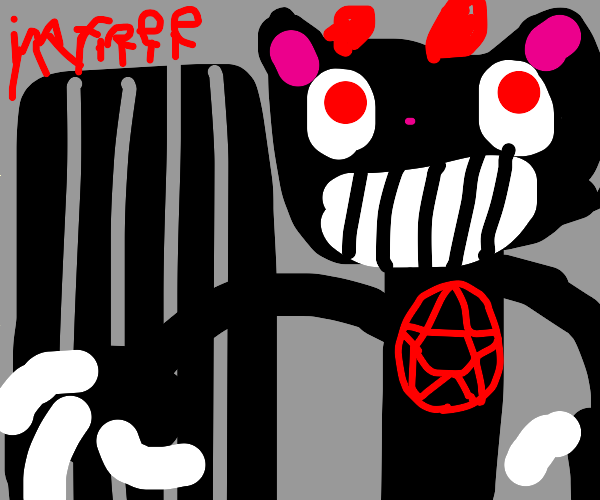 demon cat gets out of jail