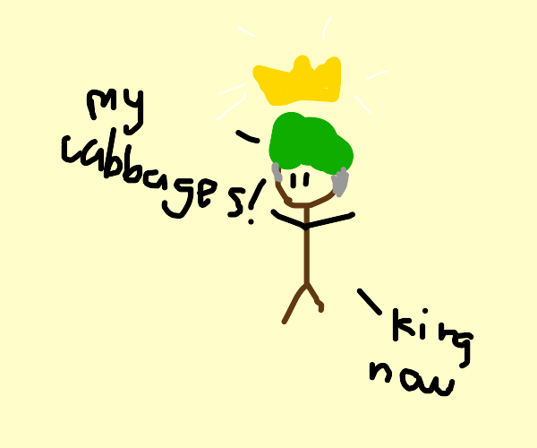 Cabbage Merchant Becomes the Earth King