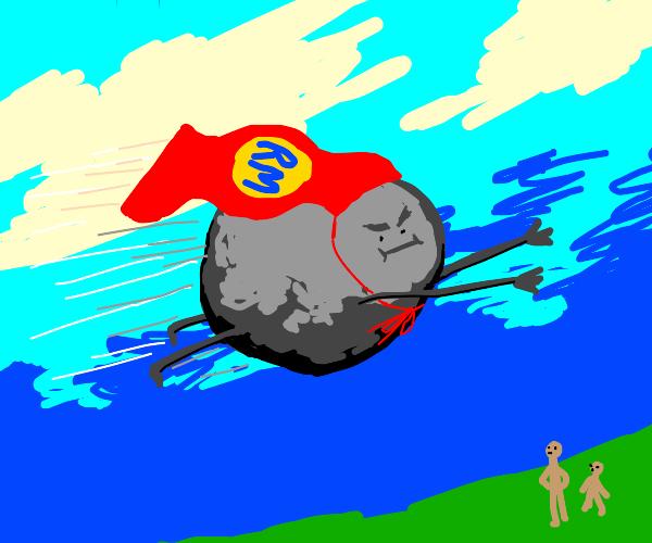 Rockman the new superhero