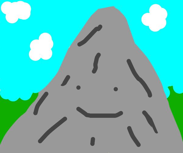 Mountain Smiling