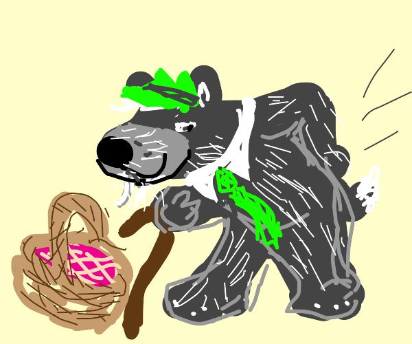 Old Yogi Bear