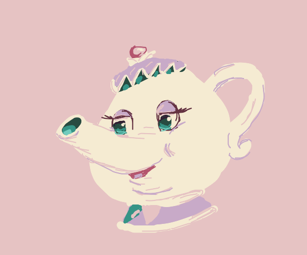 the teapot from beauty and the beast