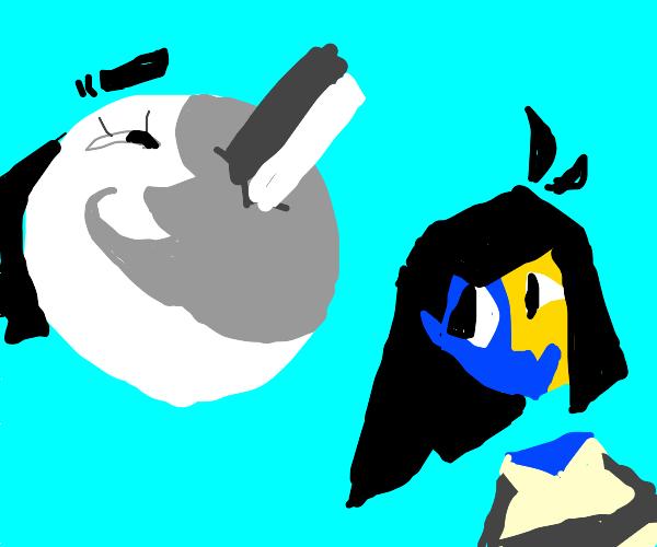 Ena and Moony