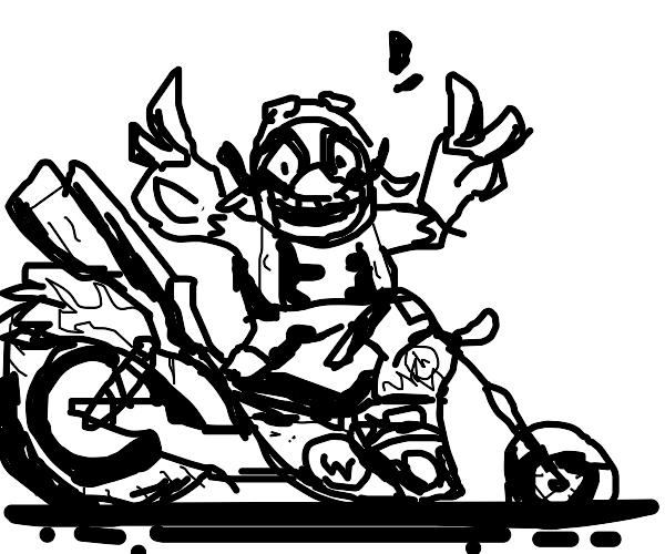 Wario Biker