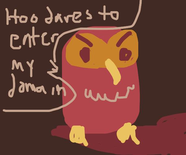 lowkey creepy owl