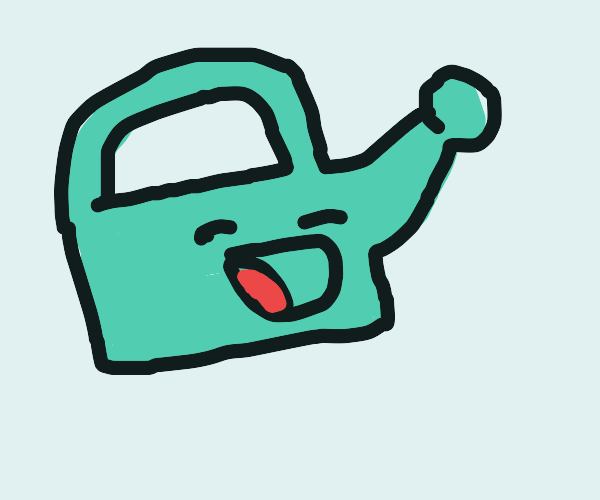 singing watering can